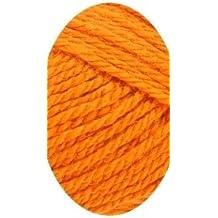 Spuni super-wash Light worsted weight yarn 100% Merino wool # 7231 Russet Orange