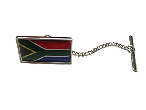 South Africa Flag Tie Tack by Kiola Designs