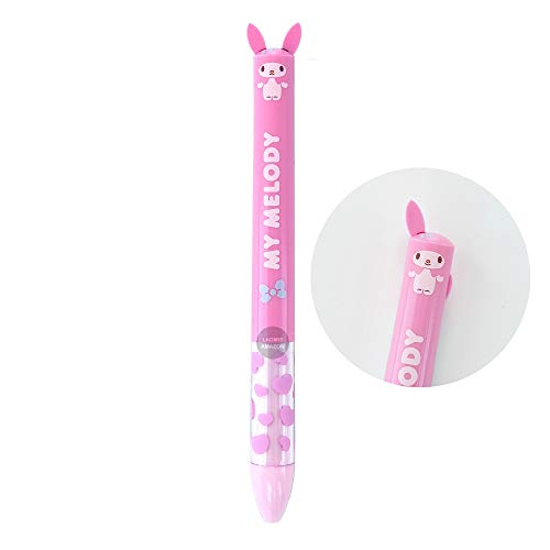 Sanrio Hello Kitty My Melody mimi Ballpoint Pen 2 Color Black, Red, 0.7mm (My Melody [ 23501401 ])