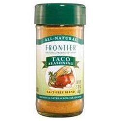 Frontier Organic Taco Seasoning # (Pack of 9) by Frontier