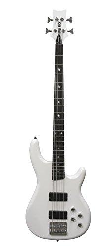 Daisy Rock DR6774-A-U Rock Candy Bass Guitar, Pearl White