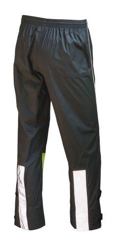 WOWOW Reflex-Regenose Urban SB-verpackt, gelb (fluoreszierend) / dunkel grau , wasserdicht mit verschweißten Nähten, 360° Sichtbarkeit, in Länge und Breite anpassbar, mit langem Reißverschluss an der