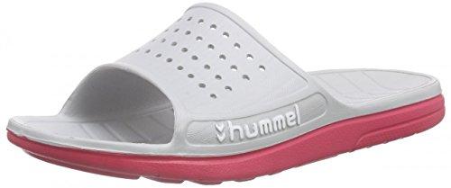 hummel Chanclas unisex, estilo deportivo, para adultos, calzado de baño y ducha, multicolor, 35 EU