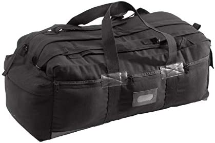 Texsport Tactical Travel Bag with Padded Backpack Shoulder Straps Duffel Duffle Bag