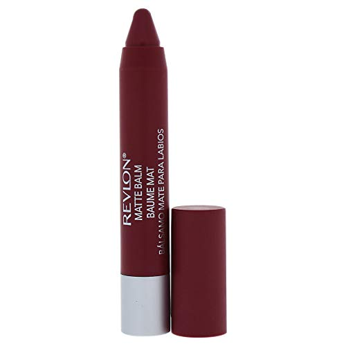 Revlon Matte Balm - # 225 Sultry By Revlon for Women - 0.095 Oz Lipstick, 0.095 Oz (Revlon Just Bitten Kissable Balm Stain Adore)