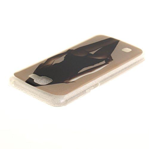 Cas Téléphone K4 Arrière De beauty Résistant En TPU Scratch Couverture Peint Motif LG Cas Souple Antichoc Protection Fit Bord Transparent Slim De Silicone Hozor FUfqAawWn