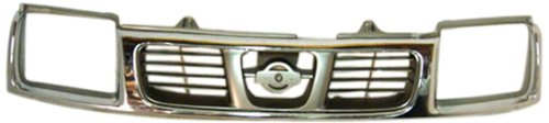 (OE Replacement Nissan/Datsun Frontier Grille Assembly (Partslink Number NI1200183))