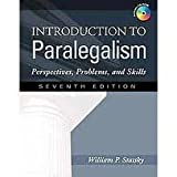 img - for Introduction to Paralegalism: Perspectives, Problems and Skills 7th (seventh) edition book / textbook / text book