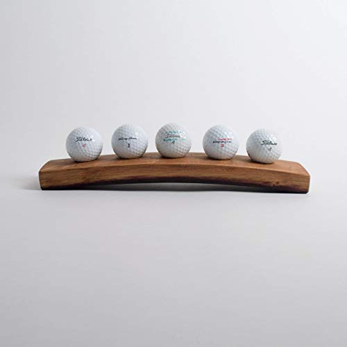 - Wine Barrel Golf Ball Display, Choice of Size