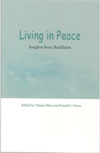 Living in Peace: Insights from World Religions, edited by Chanju Mun and Ronald S. Green, book cover
