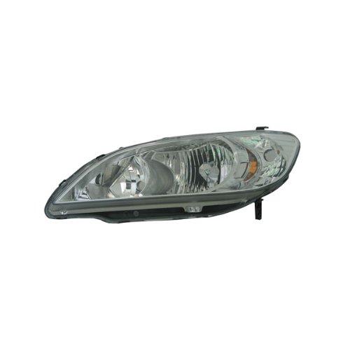 Tyc Honda Civic Driver (TYC 20-6500-01 Honda Civic Driver Side Headlight Assembly)