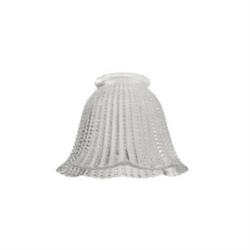 Ellington Bathroom Lighting - Litex 5-in Clear Vanity Light Glass