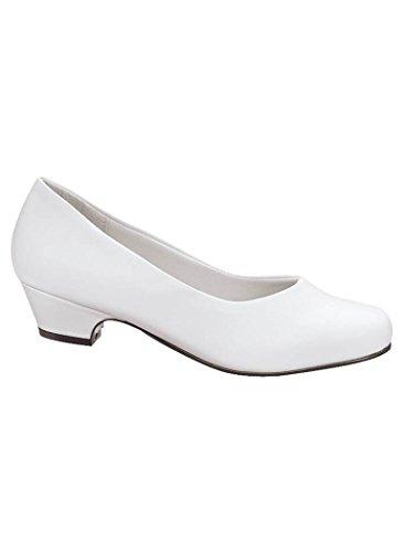 Womens Adult Angel Steps Amelia Pump synthetic White s4zG2qnkK