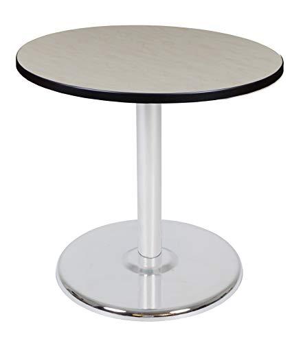 (Regency TVP30RNDPLCM Via Round Platter Base Table 30