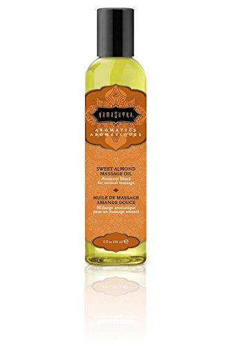 Kama Sutra Aromatic Massage Oil Sweet Almond 8 Oz (Set of 2)