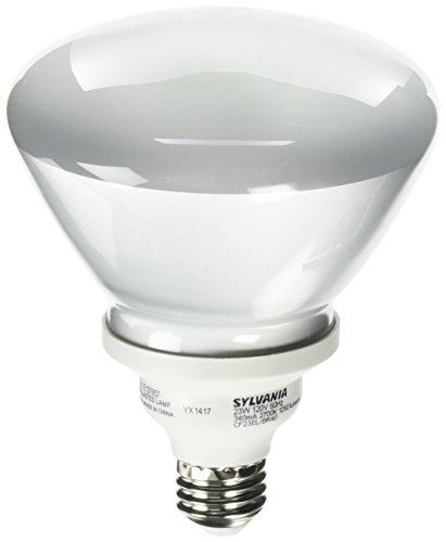 Sylvania 29452 - CF23EL/BR40/827/RP Flood Screw Base Compact Fluorescent Light Bulb Flood Screw Base Compact