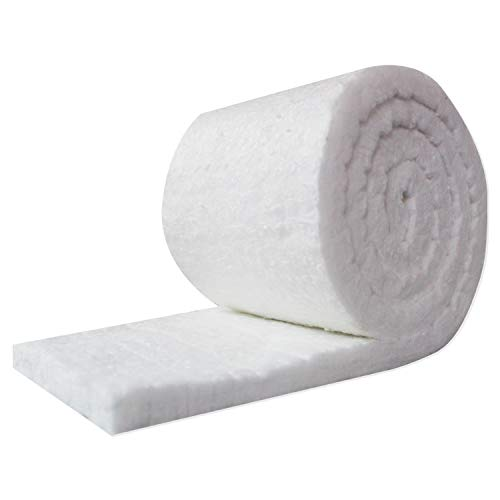 UniTherm Ceramic Fiber Insulation Blanket Roll, (6# Density, 2300°F)(1