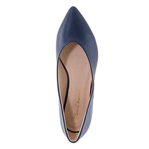 Andres Soft Pointures Grandes am5314 Machado Femmes 45 ballerines Bleu Pour Différents 42 Coloris rTqrBwp