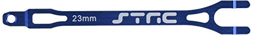 ST Racing Concepts ST3727B Aluminum Pro Racing Battery Strap for Traxxas Slash (Blue)