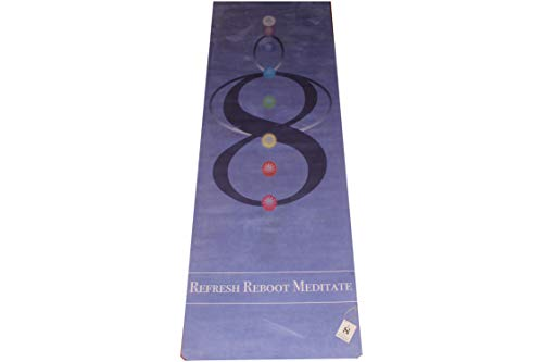 8th Chakra Yoga Mat (Manifestation Blue) (Ganesha Yoga Mat)
