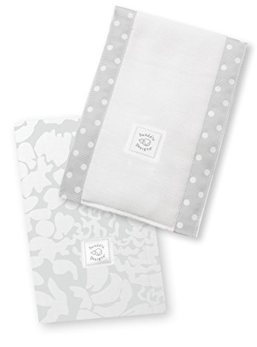SwaddleDesigns Burpies Cotton Cloths Sterling