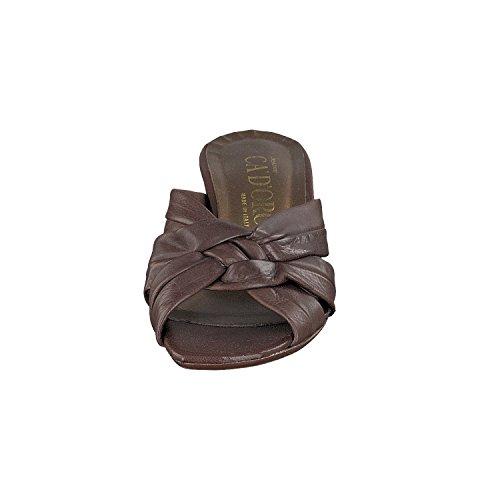 Ca´DÓro - Zapatos con correa de tobillo Mujer Marrón - marrón