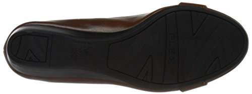 Lifestride Vrouwen Factor Wedge Pump Cognac