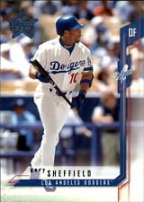 (2001 Leaf Rookies & Stars Gary Sheffield #41 Los Angeles Dodgers Baseball Card )
