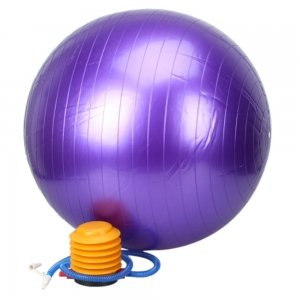 55cm Thickening Explosion-proof Exercise Fitness Yoga Bal...
