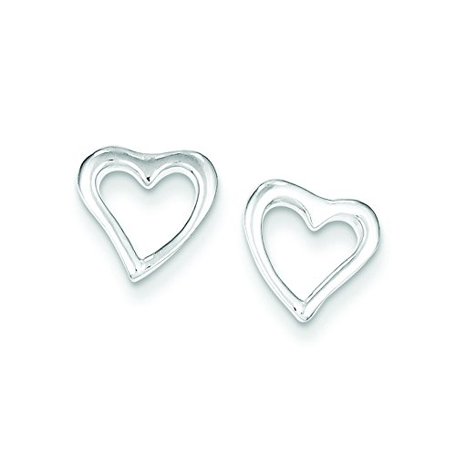 Two Tone Pave Enamel Ring (Sterling Silver Heart Post Earrings)