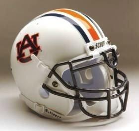 - Schutt Sports Auburn Tigers Full Size Replica Helmet