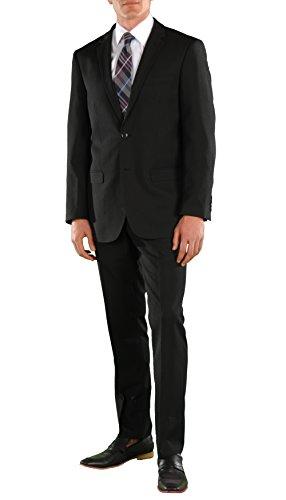 Mens 2 Piece 2 Button Regular Fit Wedding Uniform Business Suit