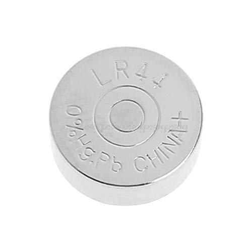 JohnnyBui - LR44 1.5V Alkaline Button Battery A76 303 357 L1154 AG13 SR44 1Pc EXP 2021 N22