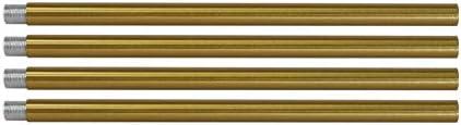 BONLICHT Rods for Modern Brushed Brass Sputnik Chandelier Lighting Included 4 Rods