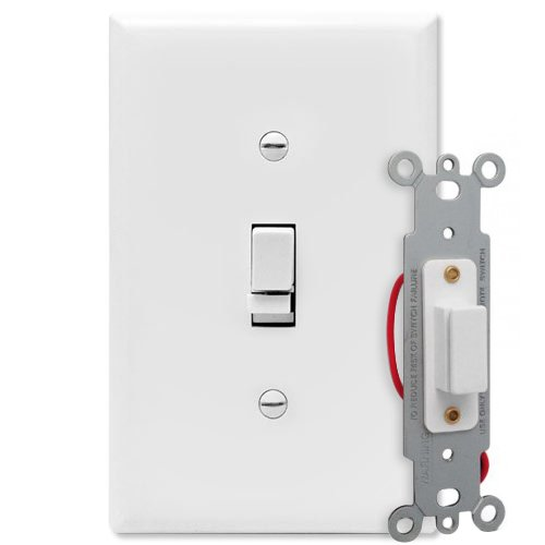 UPC 099081122329, X10 XTWS4777 X10 3 Way Wall Switch, Lights Between 40W and 500W, White