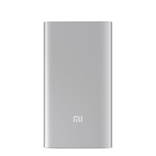 Xiaomi 10000mAh Mi Power Bank External Battery Charger Pack Portable Charger 10000mAh 2,Silver