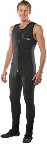 NeoSport Wetsuits Men's XSPAN Paddle John, Black, X-Large - Diving, Snorkeling & (Paddle John Wetsuit)