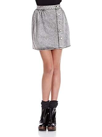 Adolfo dominguez falda rachele gris es 42 ropa for Adolfo dominguez atencion al cliente