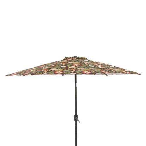 Pillow Perfect Coventry Brown 9-foot Patio Market Umbrella For Sale