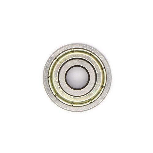SENDAXN 624ZZ Single Row Shielded Deep Groove Ball Bearing 4mm x 13mm x 5mm (Pack of 10 Pcs)