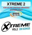 XTREME 2 Song (200 Songs) Chip for ET28KH Magic Karaoke M...
