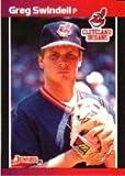 1989 Donruss Baseball Card #232 Greg Swindell Mint