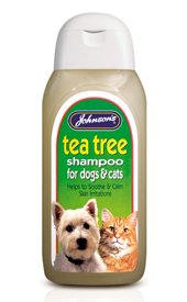 Johnsons Tea Tree Shampoo - 125ml sb