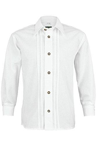Jungen OS-Trachten Trachten Kinderhemd weiß, weiß, 158/164