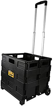 Olympia Tools 85-010 Grand Pack-N-Roll Portable Tools Carrier with Telescopic Handle, 80 Lb. Load Capacity, Bl