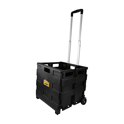 Olympia Tools Grand Pack-N-Roll Portable Cart, 85-010, Black