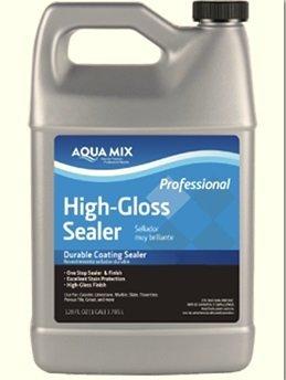 (Aqua Mix High Gloss Sealer Durable Coating Sealer 1 Gallon)