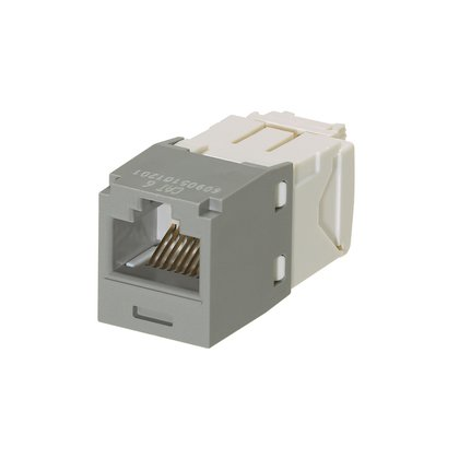 Panduit Mini-Com TX6 Plus Giga-Channel Cat6 Jack, Gray, Box of 50 CJ688TGIG by Panduit