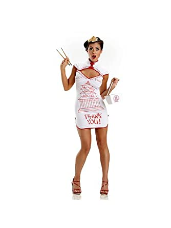 81ea4c74a Amazon.com: Escante Chinese Food Take Out Girl Sexy Adult Halloween ...