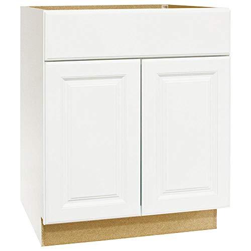 Hampton Bay KVSB24-SW Base Bath Vanity Cabinet, Satin White ()